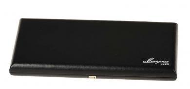 Hygrocase aus Leder für 20 Oboenrohre - schwarz